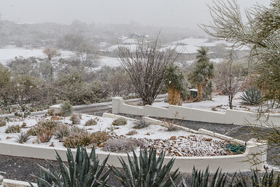 Tucson Snow 2013 -5