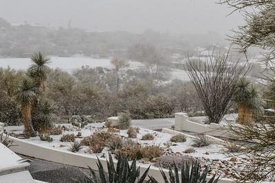 Tucson Snow 2013 -2