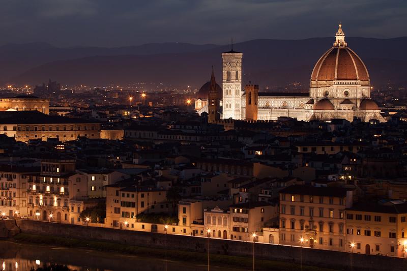 Santa Maria Del Fiore night
