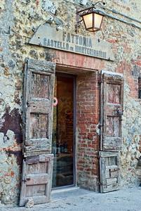 Old Doors in Monteriggioni
