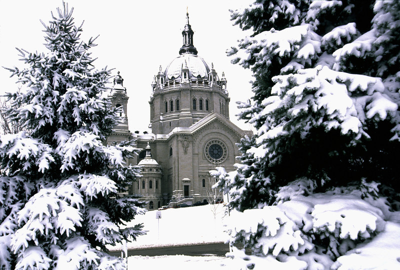 Cathedral snow - 1