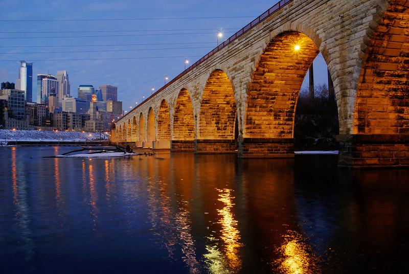 Stone Arch in the early morning