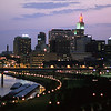 St. Paul skyline (night)