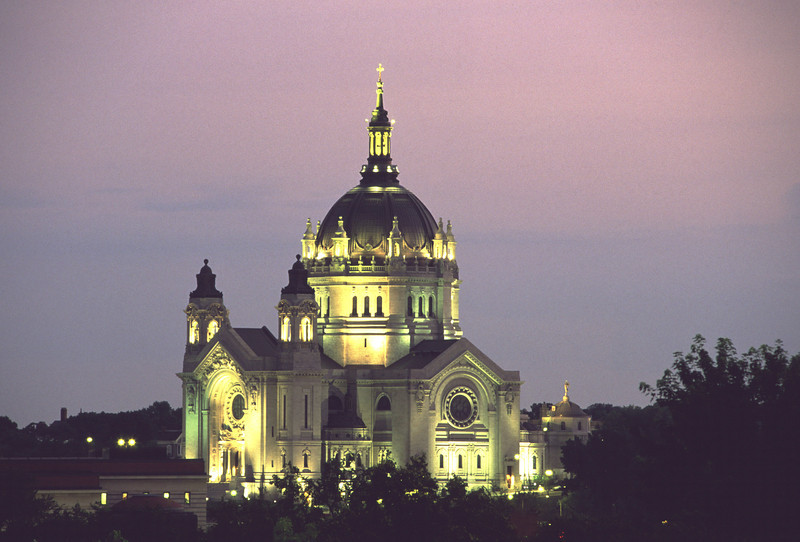 Evening glow - Cathedral