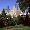 Minneapolis skyline from the University