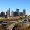 Mpls skyline from the east