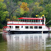 Small paddle wheeler on the Miss River near St. Paul