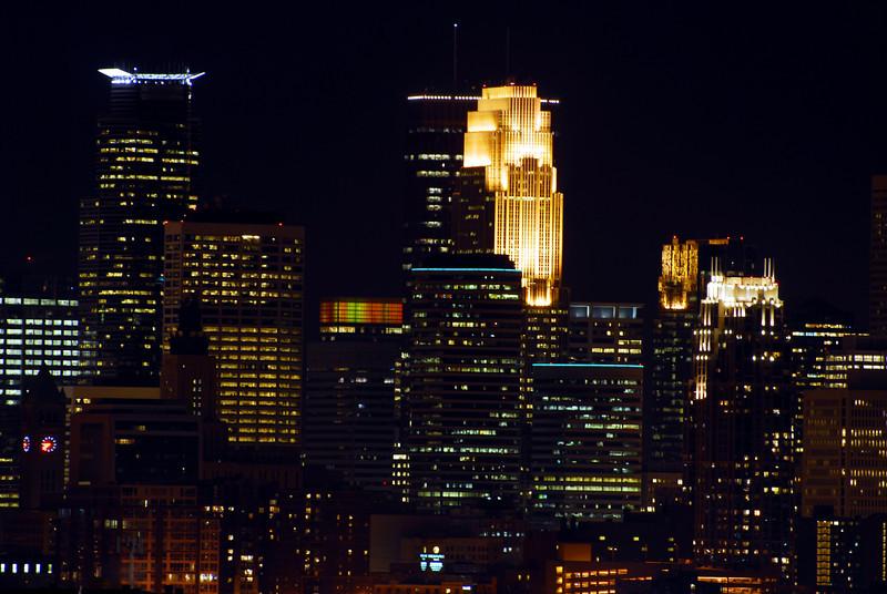 The lights of Minneapolis