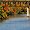 Franklin RR bridge in the fall