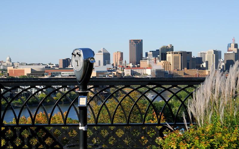 St. Paul skyline from Cherokee Heights.