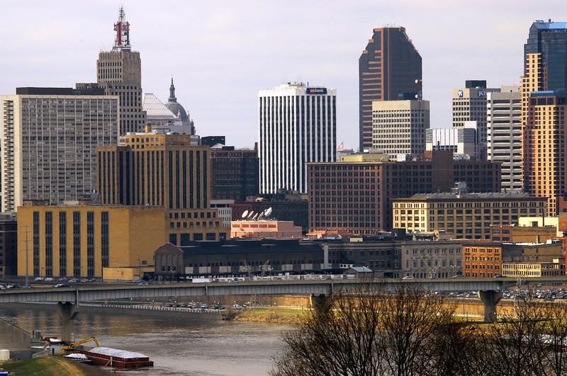 St. Paul skyline & river