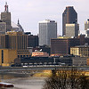St. Paul skyline & river