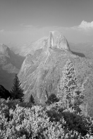 Two Views of Half Dome