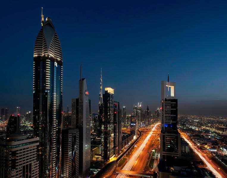 Sheik Zayed Boulevard