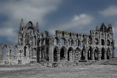 Whitby Abbey  South Outside Wall