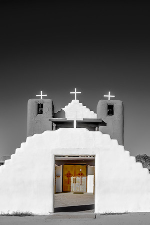 White Walls and Crosses