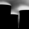 Three of the eight towers at Fiddlers Ferry power station