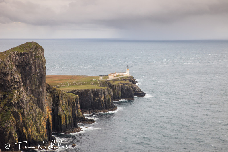 Neist Point approaching storm