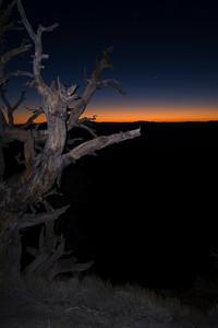 Telescope Peak Trail - Death Valley - California Looking east before sunrise