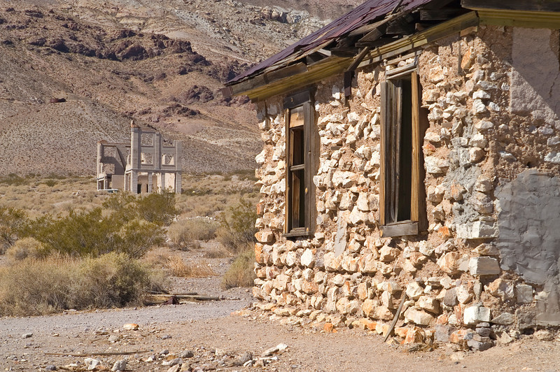 Rhyolite Ghost Town - Death Valley - California