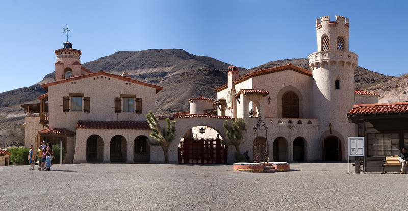 Scottys Castle - Death Valley - California