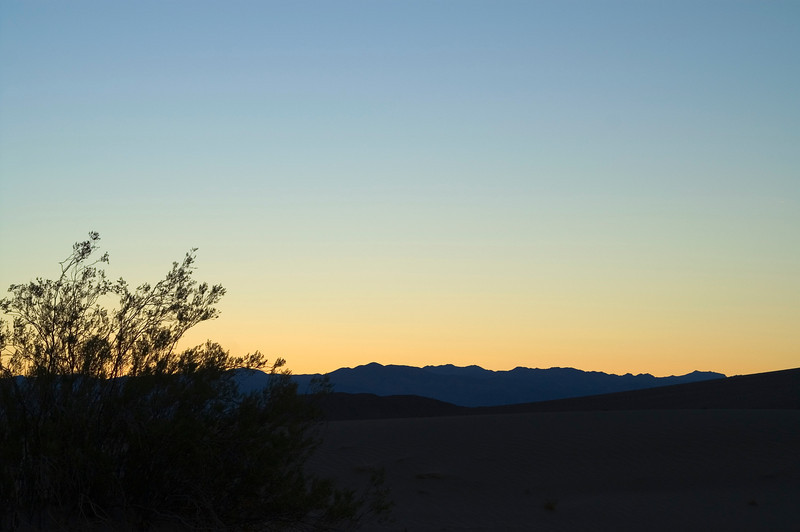 Morning light - Death Valley - California
