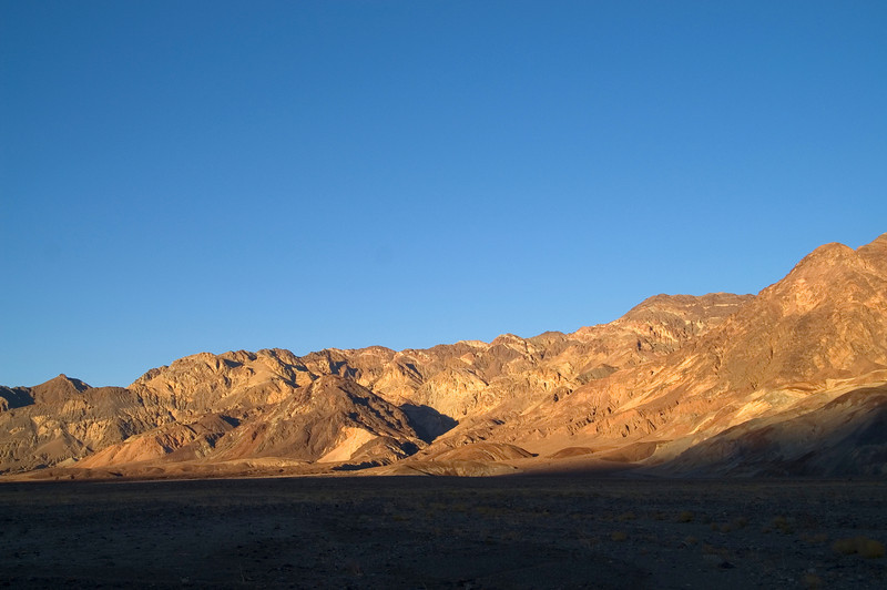 Evening Glow in Death Valley - California