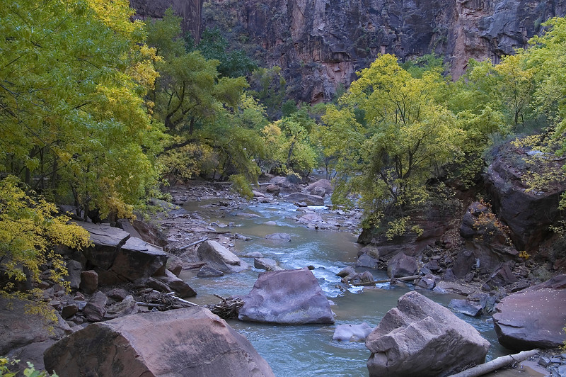 Virgin River at the Riverside Walk