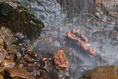 Waterfall at Lower Emerald Pools