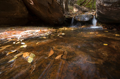 At the Middle Emerald Pools