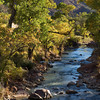The Virgin River on the Pa'rus Trail