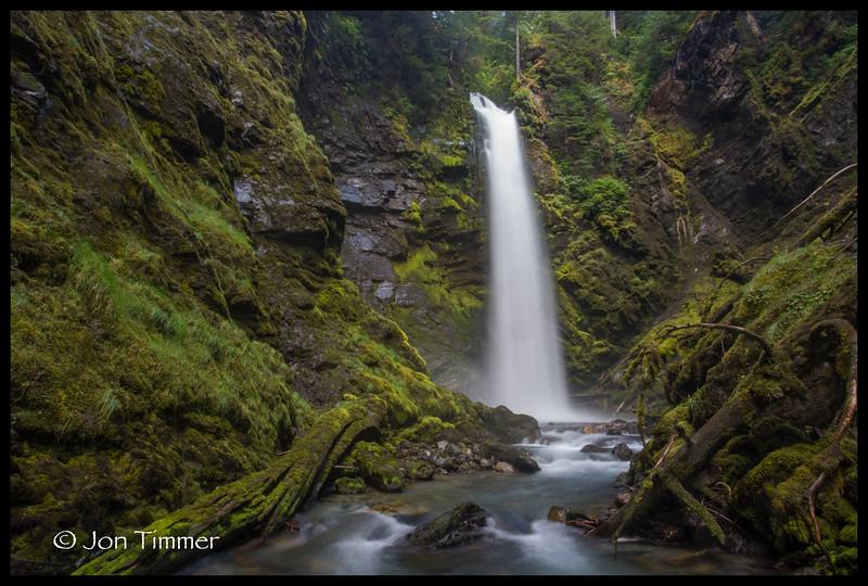 Lower Wells Creek Falls