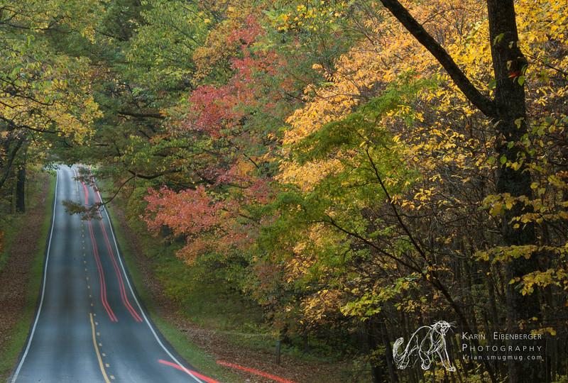 October 2011. Shenandoah National Park. Skyland Drive.