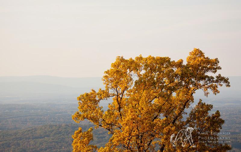October 2011. Shenandoah National Park. Overview from Skyland Drive.