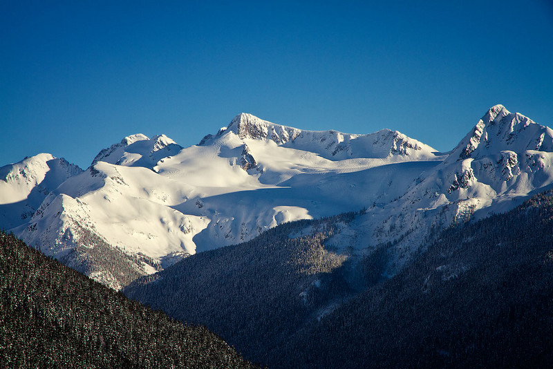 View from Blackcomb, Whistler