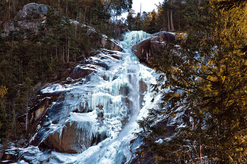 Shannon Falls, north of Vancouver