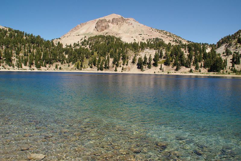 Mount Lassen + Lake Helen