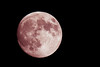 The moon, from Eureka, Humboldt County, California, on September 26 2015.