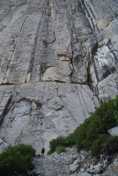 Yosemite Falls Track