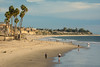 San Clemente Beach looking south from the pier in the late afternoon, November 2017. [San Clemente 2017-11 001 CA-USA]