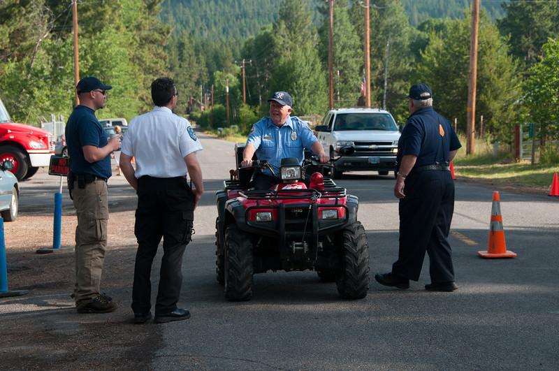 At the Fireman's Sale, Rocky Point, Upper Klamath Lake, July 2011