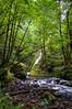 Just downstream from Bridal Veil Falls, Columbia River Gorge, Oregon. July 2012. [Bridal Veil Falls 2012-07 009 OR-USA_TC]