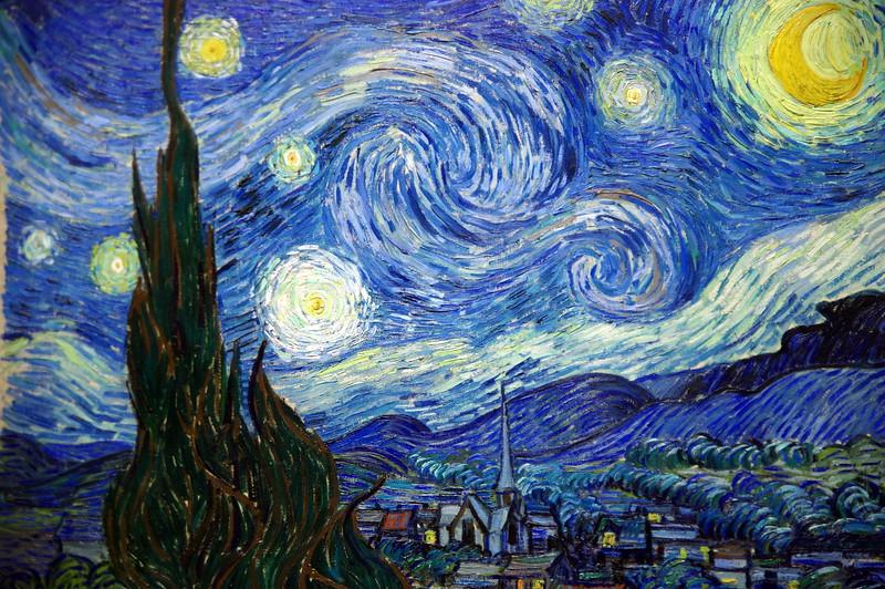 Van Goghs 'Starry night', MOMA