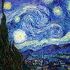 Van Goghs 'Starry night', MOMA