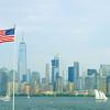 Highest building in the western hemisphere....the american flag!