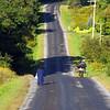 Amish people at Lake Ontario