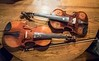 Decorated fiddles