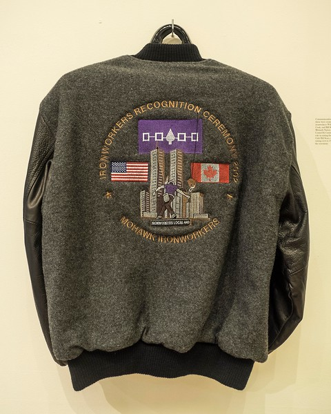 Jacket to celebrate Mohawk High Steel Ironworkers