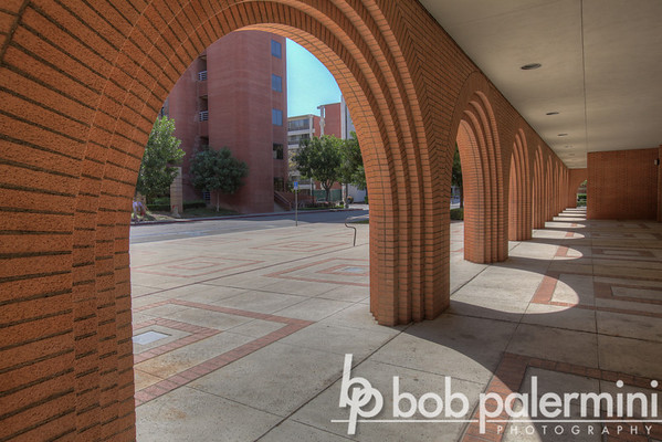 Gerontology Building, University of Southern California (USC) campus