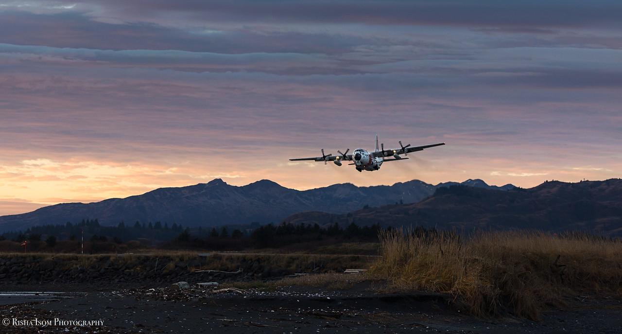 C-130 Buskin Takeoff